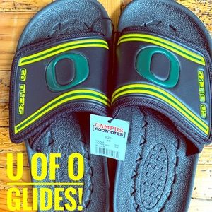 Glides/Sandals- University of Oregon ***unisex***